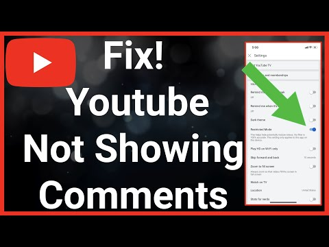 Youtube Not Showing Comments - Fix!