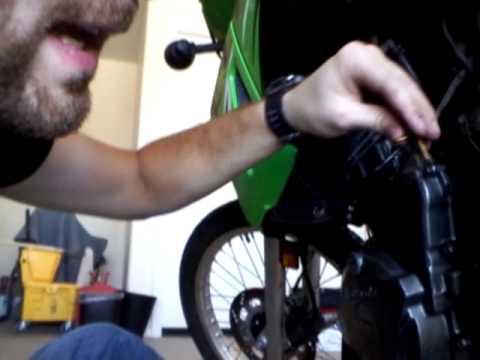 KLR 650 starter relay problem tutorial part 1 - YouTube