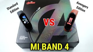 MI Band 4 Avengers Edition vs Standard Edition INDIA | DETAILED COMPARISON | HINDI