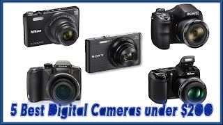 Video Exclusive Review of the 5 Best Digital Cameras under 200 Reviews   Best Point and Shoot Camera 2017 download MP3, 3GP, MP4, WEBM, AVI, FLV Juli 2018