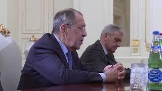 С.В.Лавров и И.Г.Алиев
