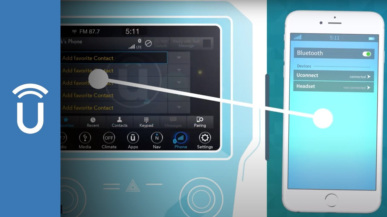 U Connect Phone >> Official Mopar Site Bluetooth Pairing