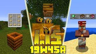 Minecraft 1.15: [Snapshot 19w45a] Co Nowego? Bibliotekarz Naprawiony! Zmiana z Pszczołami!