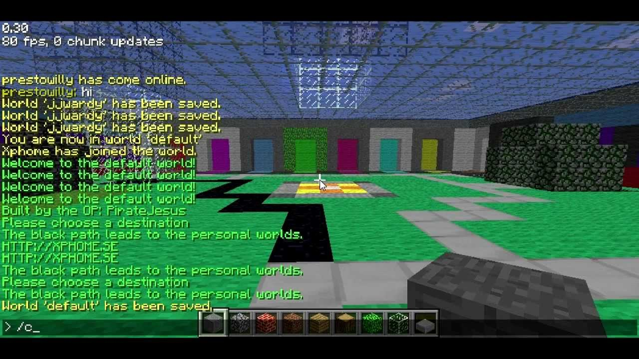 Minecraft Classic Advanced commands YouTube