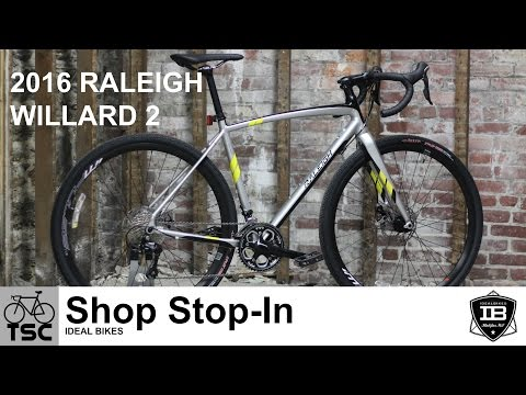2016 Raleigh Willard 2: Shop Stop-In