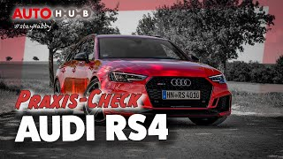 Audi RS4 2018 - Der Praxis-Check mit Habby