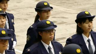 H29年 千葉県警 視閲式 一般部隊 入場・行進/Chiba prefectual police parade '17