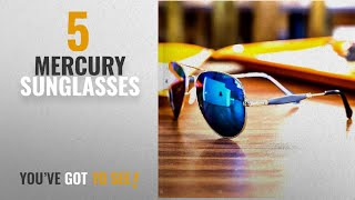 Top 10 Mercury Sunglasses [2018]: Y&S Golden Stick Blue Mercury Unisex Sunglasses For Mens Combo