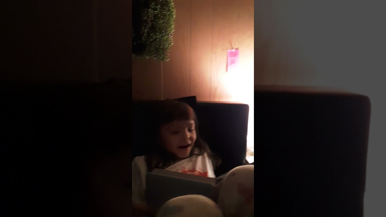Priscilla's reading Bible story.