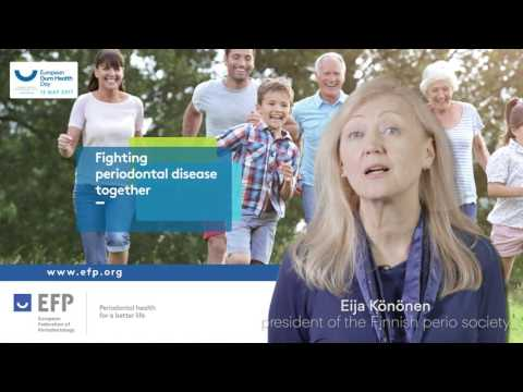 Könönen presents the European Gum Health Day 2017 in Finland