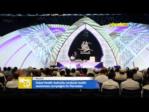 Dubai Health Authority conducts health awareness campaigns for Ramadan