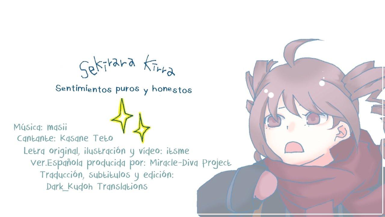 【Kasane Teto】Pure and honest feelings【Original Song】