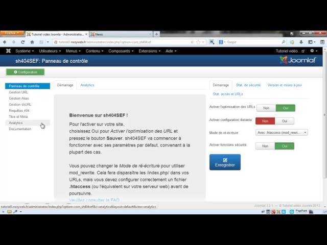 Joomla 3 - Gestion des requêtes 404 avec sh404SEF