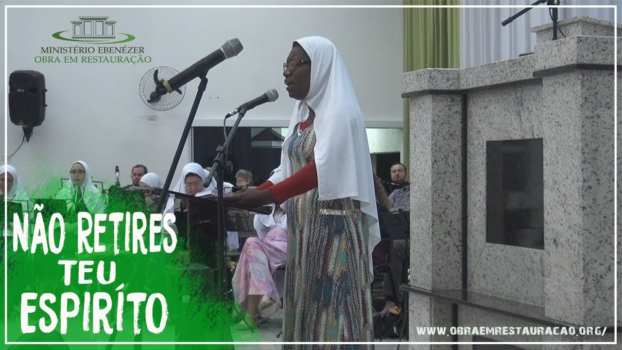 Culto de domingo: dia 29/07/2018 Irm� Queila: N�o Retires teu Esp�rito
