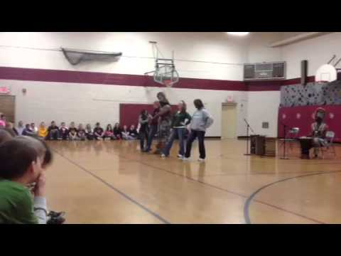 African Drummers at Loyal Elementary School, Loyal, Wiscons