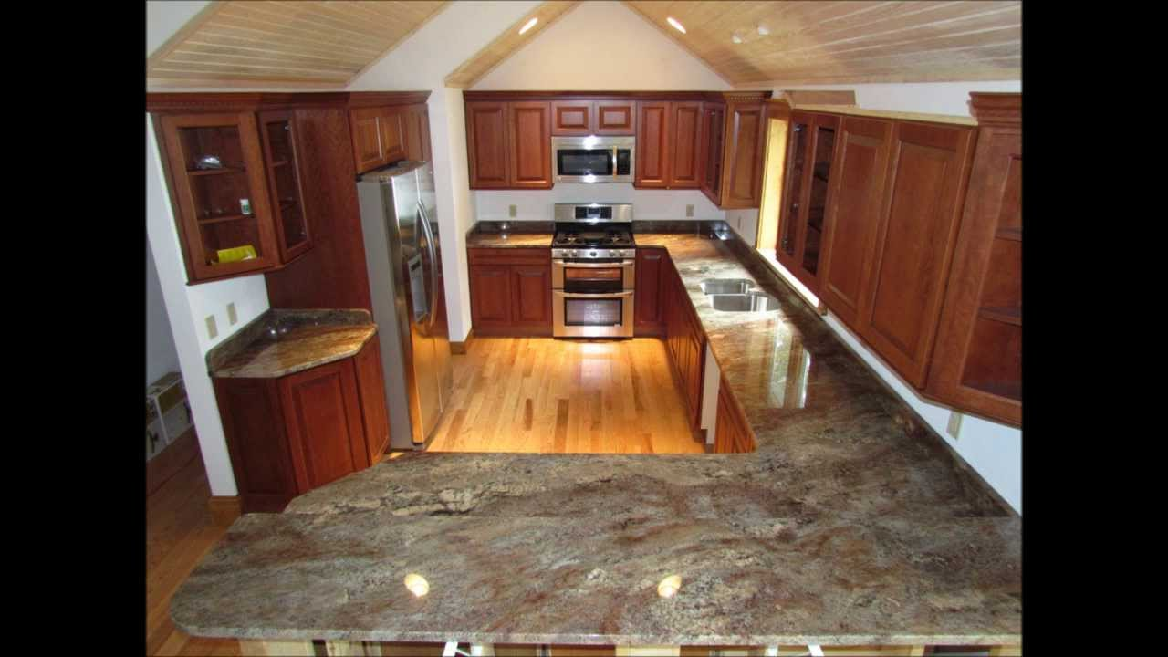 Custom Made In Maine Granite Countertops Slideshow