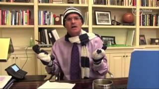 Headmaster sings 'Let it Snow' thrilling pupils     01:22