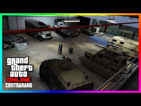 GTA Online CONTRABAND Update Details - NEW DLC Vehicles, Cops N' Robbers & MORE Coming Next Week!