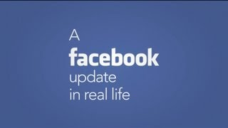 A Facebook Update In Real Life thumbnail