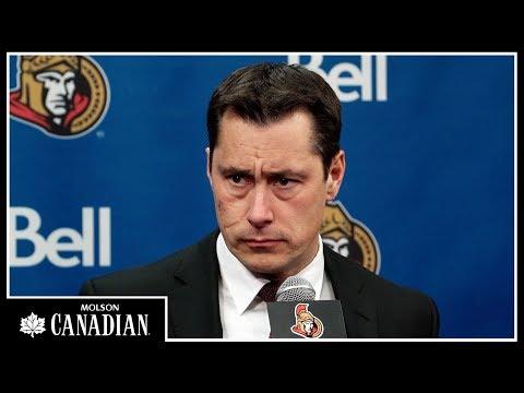Dec 30: Sens vs. Bruins - Coach Post-game