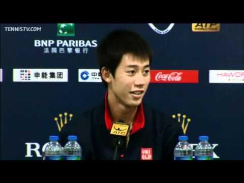 Nishikori Reaches First Masters 1000 Quarter-final In Shanghai
