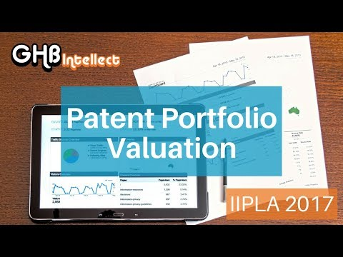 Patent Portfolio Valuations Presentation