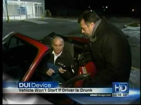 Thomas Glasgow discusses Illinois DUI Law & Breathalyzer Requirements on CBS 2 News