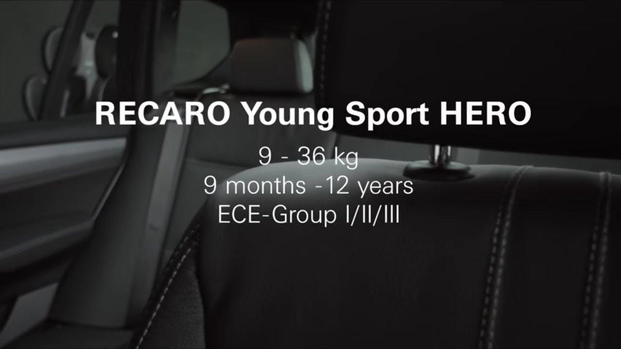 Автокресло Recaro Young Sport Hero