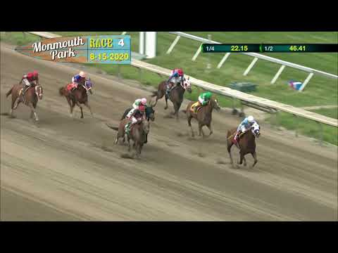 video thumbnail for MONMOUTH PARK 08-15-20 RACE 4