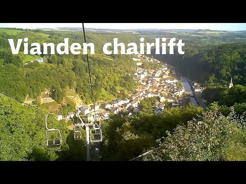 LUXEMBOURG: Chairlift of Vianden