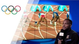 Ato Boldon Commentates his Own Olympic Medal Race | Take the Mic