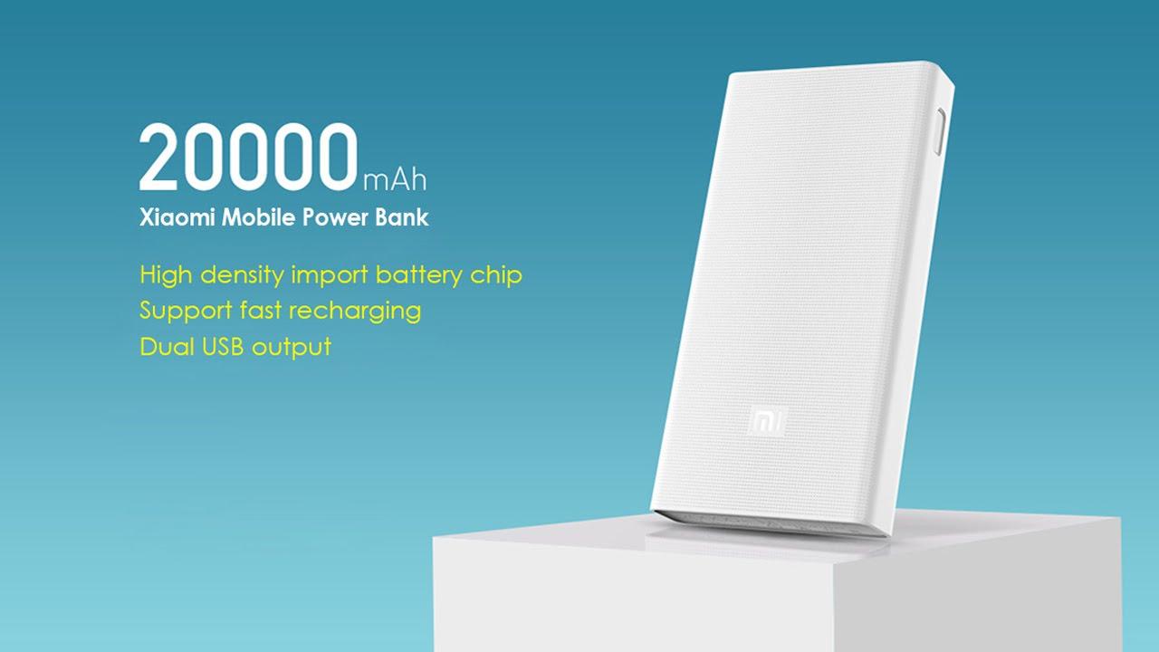 brand new 6504d 3d581 Xiaomi Mi Power Bank 20000mAh