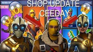 VENTURA/VENTURION SKIN & RAPTOR SKIN! FORTNITE ITEM SHOP UPDATE! DAILY ITEM SHOP [August 21]