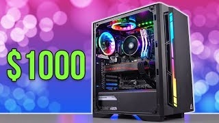 $1000 Gaming PC Build - R5 3600 + 5700 XT