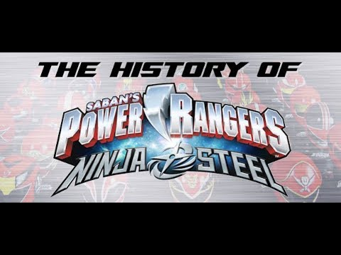Power Rangers Ninja Steel, Part 1 - History of Power Rangers
