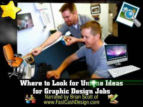 Where to Look for Unique Ideas for your Graphic Design Jobs