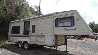 RV Camper Trailer 5th Wheel Nomad Caravan For Sale Skyline Review