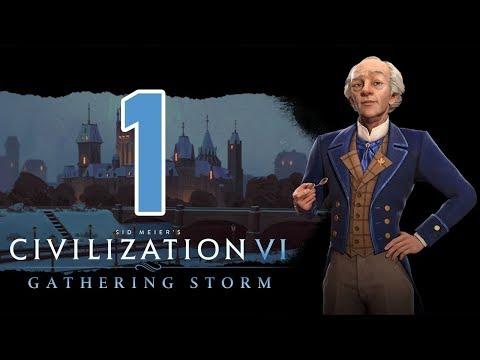 Прохождение Civilization 6: Gathering Storm #1 - «Просто климат другой!» [Канада - Божество]