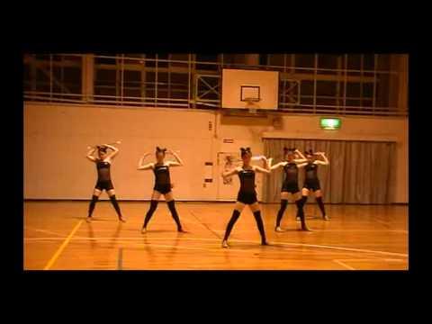 Work Bitch - Baton twirling performance
