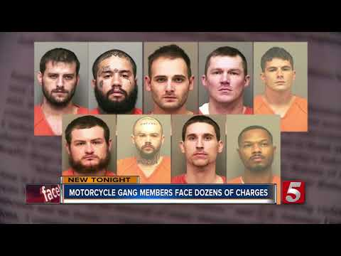 Clarksville Motorcycle Gang Members Indicted On Federal Charges