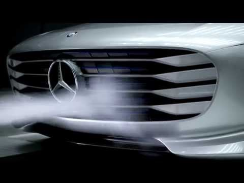 Mercedes-Benz IAA Concept Car Wind Tunnel - Frankfurt Motor Show
