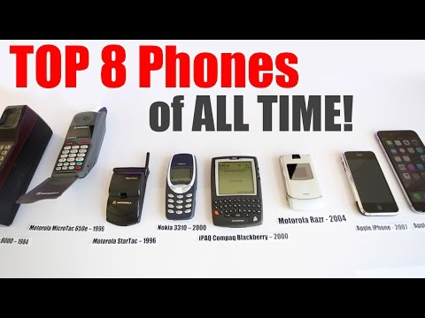 Thumbnail: Best Phones Ever - Top 8 Best Phones of All Time!