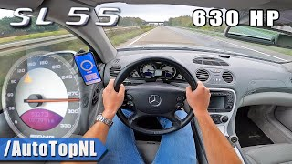 630HP Mercedes SL55 AMG on AUT…