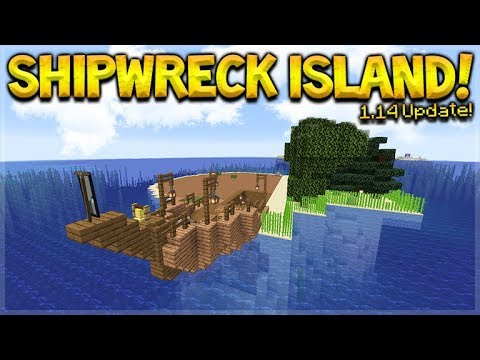 MINECRAFT 1 14 - SHIPWRECK SURVIVAL ISLAND! THEY ADDED BERRIES