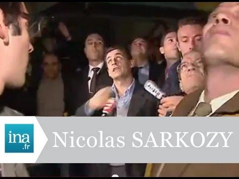 """Nicolas Sarkozy """"les raccailles d'Argenteuil""""  - Archive vidéo INA"""