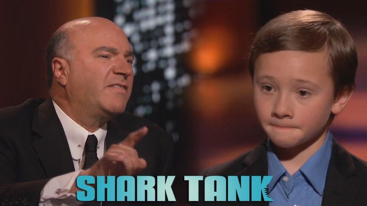 Kid Gets Destroyed On Shark Tank Youtube