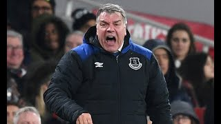 Allardyce slams 'pathetic' Everton for Arsenal humiliation