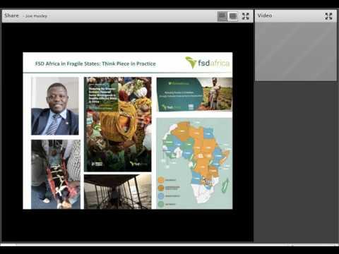 Webinar: Financial Markets in Protracted Crises - FSD Africa