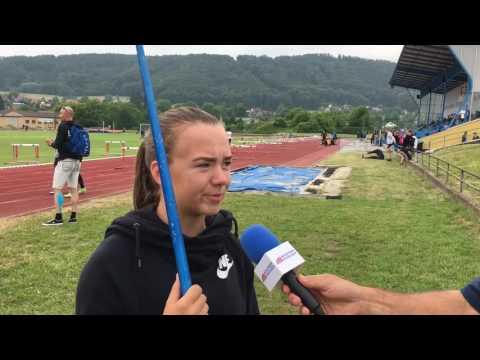 Interview Eliska Kotkolikova - Javelin personal best