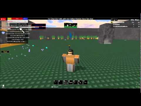 how to go in to commands roblox